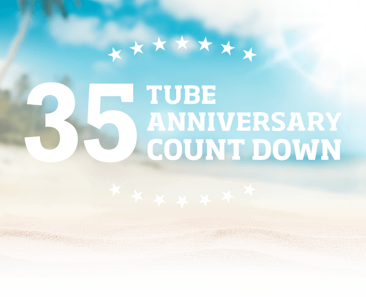 35 TUBE ANNIVERSARY COUNT DOWN